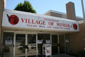 Mineola Village Hall. (Photo by Christopher Gavin)