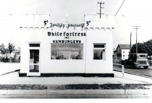White Fortress Hamburgers (Photo courtesy of the Mineola Historical Society)