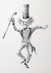 Joseph Schindelman's rendering of  Willy Wonka
