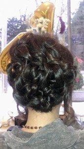 A cascade of curls