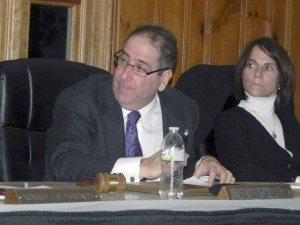 East Williston Mayor David Tanner
