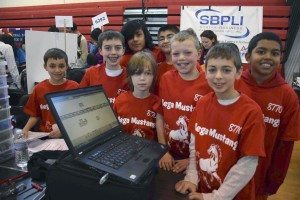 Mineola High School held the FIRST Lego League qualifiers on Jan. 31.