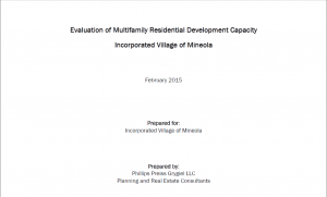 The report is available at http://mineola-ny.gov