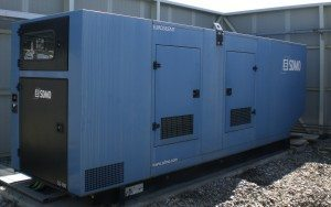 A power generator. This is not a generator provided by Mineola nor is it the one the village may purchase.