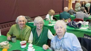 Lucille D'Amato, Rose Smith and Rosemary Spinello