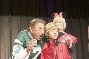 Joe Namath at the Henry Viscardi School's Sports Night