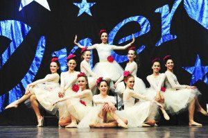 Hannah Kroner School of Dance team members at the recent Energy and Starpower Regional Dance Competition