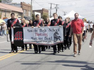 The Mineola High School Marching Band