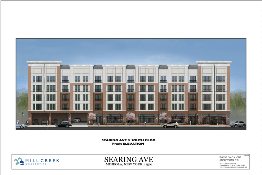 The Proposed 192 Unit Apartment Complex For Searing Avenue