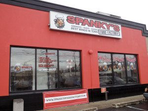 Spanky's Food Factory is at 2458 Jericho Tpke.