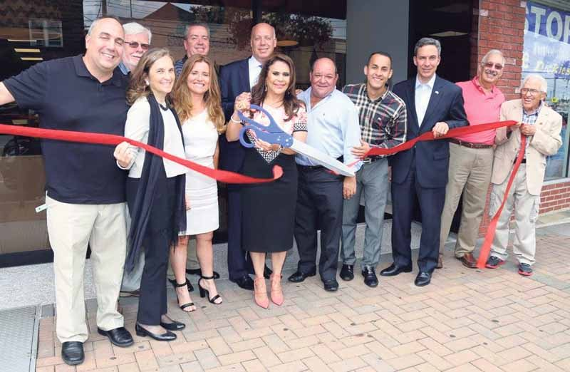 A ribbon cutting was recently held to welcome Manny's Sweet Treats to the community.