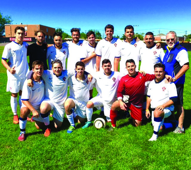 The Mineola Portuguese Soccer Club Men's Team