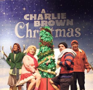Plaza Theatrical Productions put on a performance of A Charlie Brown Christmas.