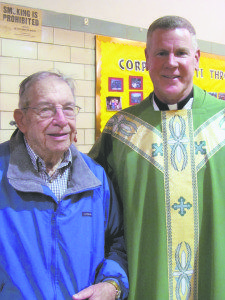 Corpus Christi grad Al Thiem and Rev. Malcolm Burns